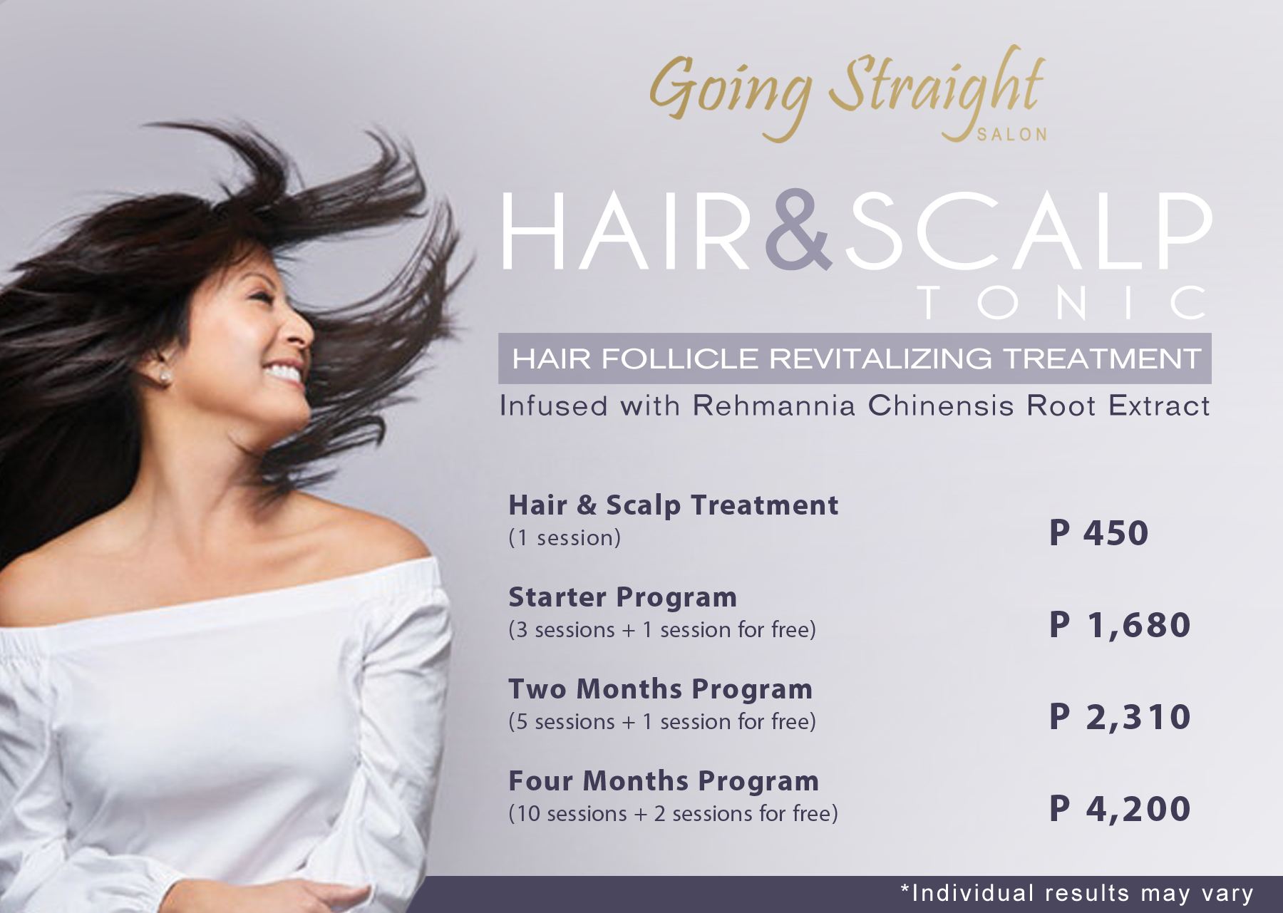 News and Promos – Going Straight Salon